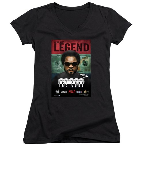 Ice Cube  Women's V-Neck