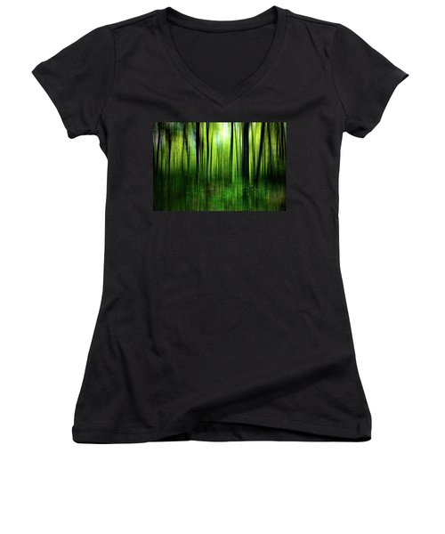 If A Tree Women's V-Neck (Athletic Fit)