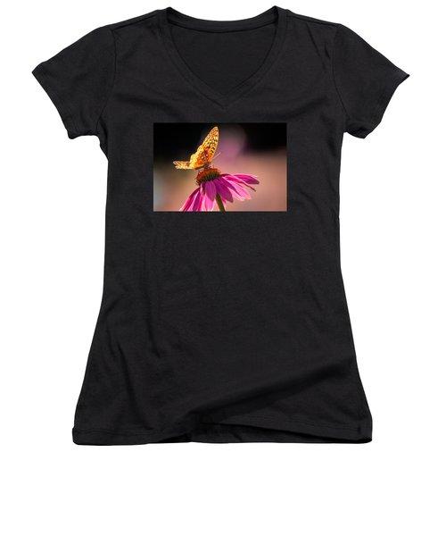 If I Could Women's V-Neck T-Shirt (Junior Cut) by Craig Szymanski
