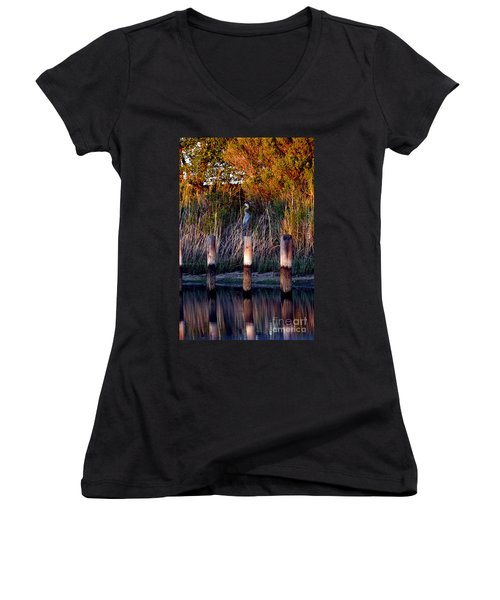Illusion Women's V-Neck