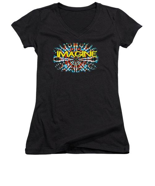 Imagine T-shirt Women's V-Neck T-Shirt