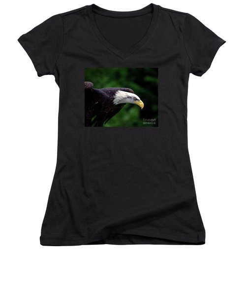 In For The Kill Women's V-Neck (Athletic Fit)