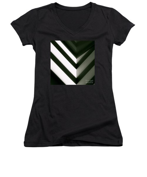 In Or Out Women's V-Neck T-Shirt
