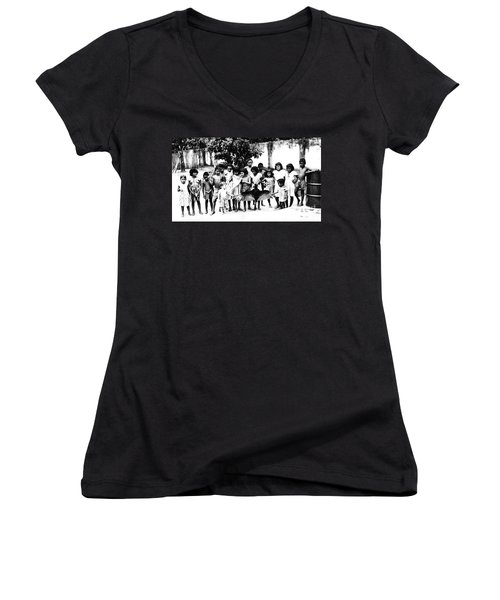 In The Amazon 1953 Women's V-Neck T-Shirt