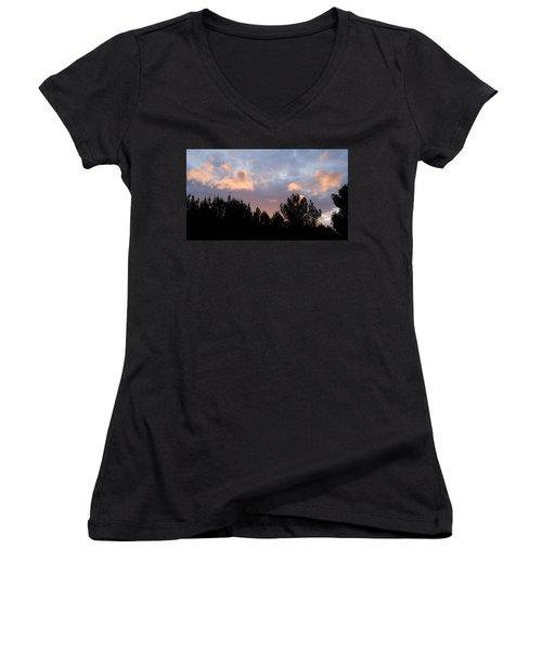 In The Clouds Women's V-Neck