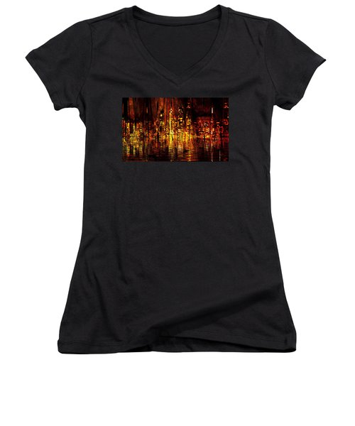 In The Heat Of The Night Women's V-Neck T-Shirt