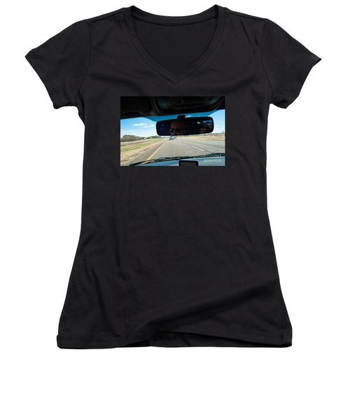 In The Road 2 Women's V-Neck (Athletic Fit)