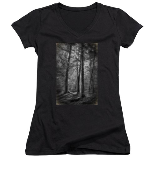 In The Woods Women's V-Neck (Athletic Fit)