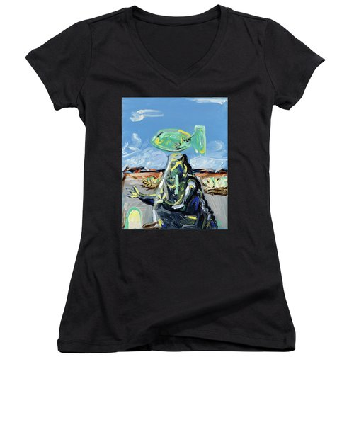 Incubator Of Anxiety Women's V-Neck T-Shirt