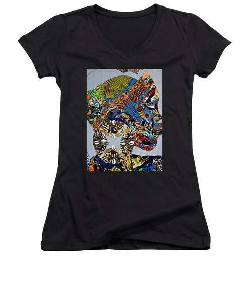 Indigo Crossing Women's V-Neck T-Shirt