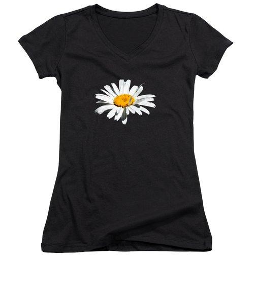 Innocence  Women's V-Neck T-Shirt (Junior Cut) by Debbie Oppermann