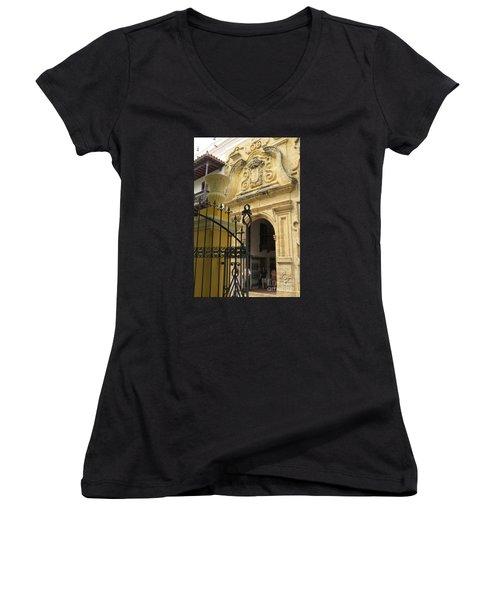 Inquisition Palace Women's V-Neck T-Shirt