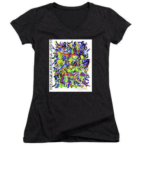Intention Somniack Women's V-Neck T-Shirt