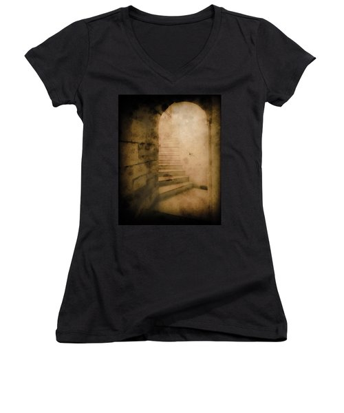 London, England - Into The Light II Women's V-Neck