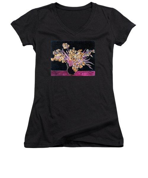 Inv Blend 3 Van Gogh Women's V-Neck T-Shirt