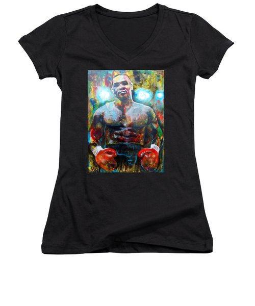 Iron Mike Women's V-Neck (Athletic Fit)