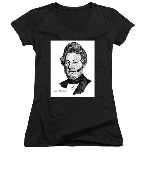 Isaac Graham Women's V-Neck T-Shirt