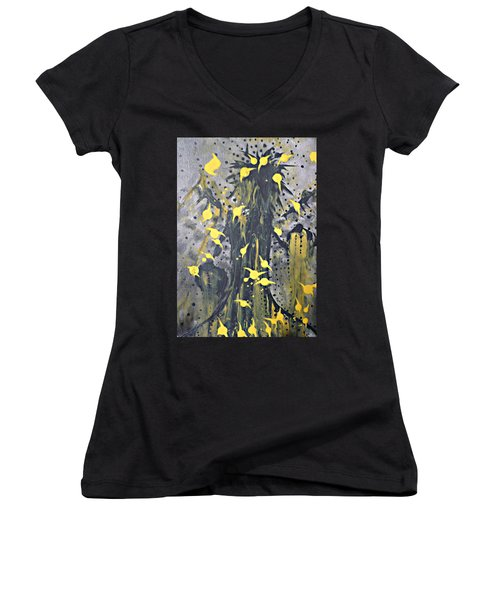 It Caws Women's V-Neck
