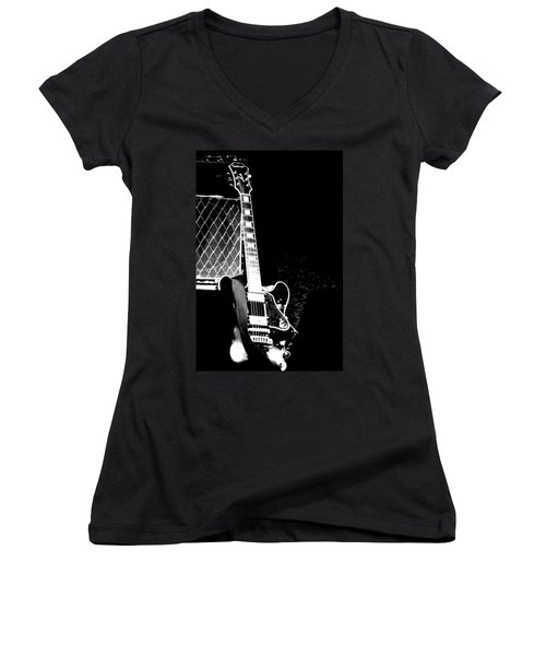 Its All Rock N Roll Women's V-Neck (Athletic Fit)