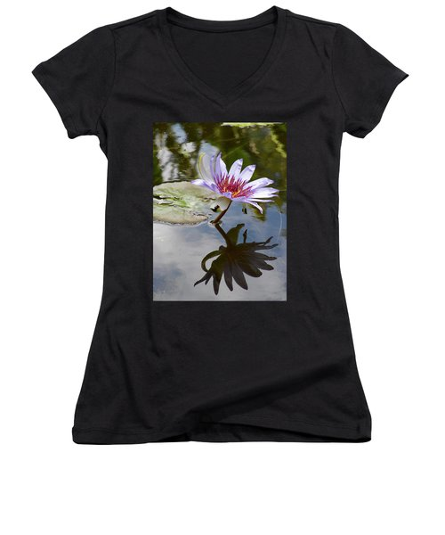 Its Shadow Women's V-Neck T-Shirt