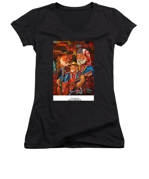 It's Willie Women's V-Neck T-Shirt