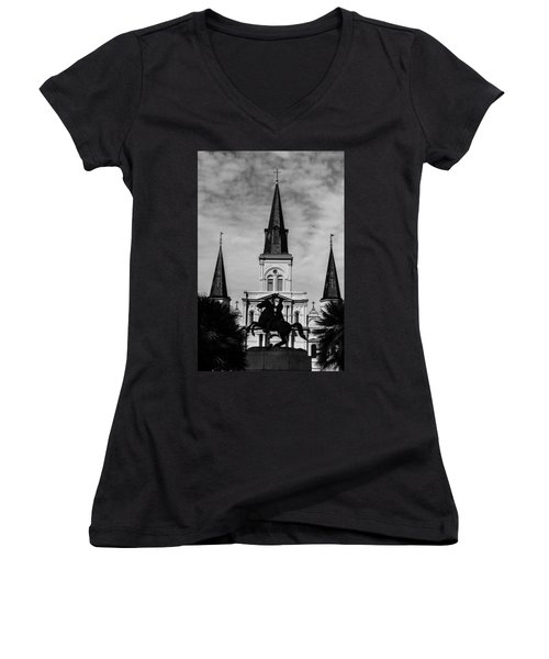Jackson Square - Monochrome Women's V-Neck