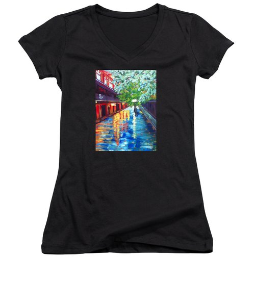 Jackson Square Reflections Women's V-Neck (Athletic Fit)