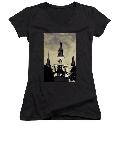 Jackson Square - Split Tone Women's V-Neck