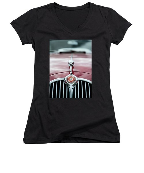 Jaguar Grille Women's V-Neck T-Shirt