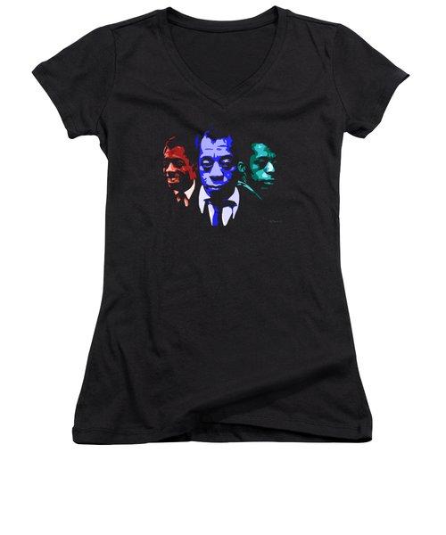 James Baldwin Women's V-Neck