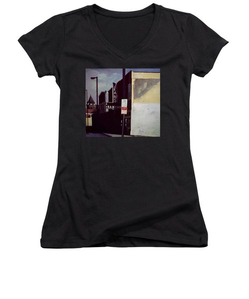Jean's Bakery Women's V-Neck