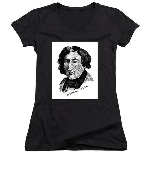 Jedediah S. Smith Women's V-Neck T-Shirt