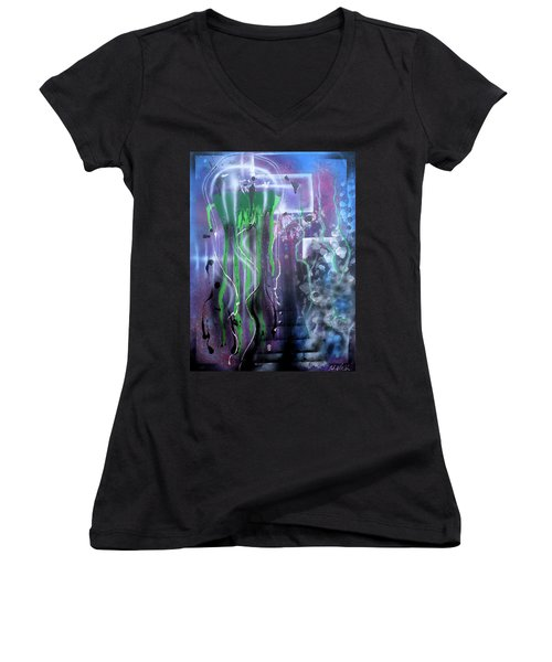 Jelly Women's V-Neck