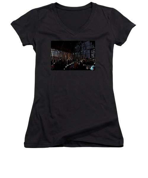 Jesse's In The Barn Women's V-Neck (Athletic Fit)