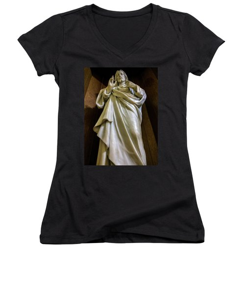 Jesus - Son Of God Women's V-Neck
