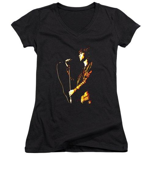 Jim Morrison Women's V-Neck (Athletic Fit)