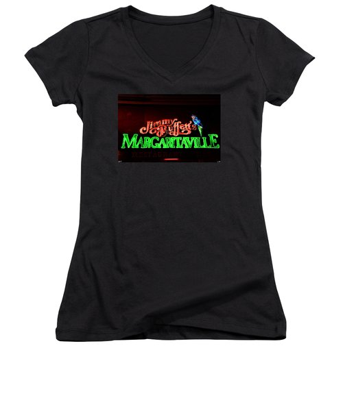 Jimmy Buffett's Margaritaville Women's V-Neck