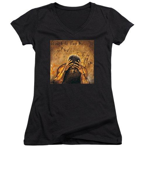 Job Women's V-Neck T-Shirt