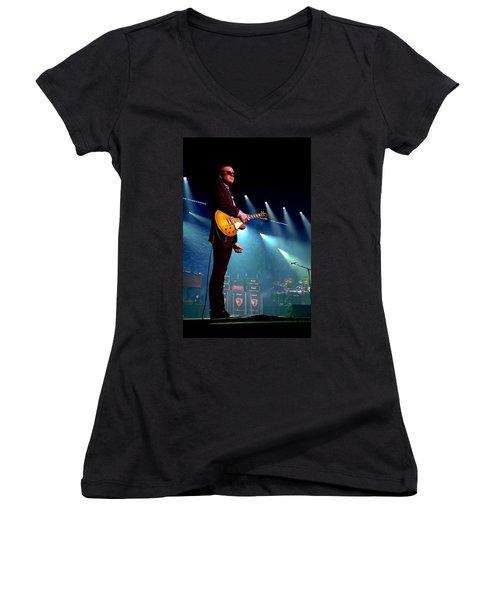 Joe Bonamassa 2 Women's V-Neck T-Shirt
