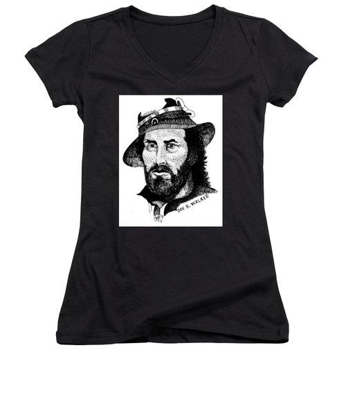 Joe R. Walker Painting Women's V-Neck T-Shirt