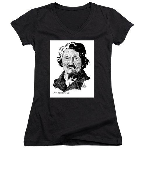 John Robertson Women's V-Neck T-Shirt