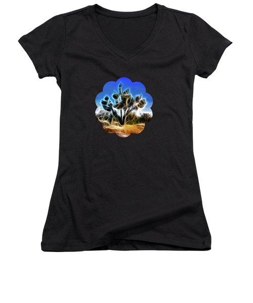 Joshua Tree Women's V-Neck T-Shirt