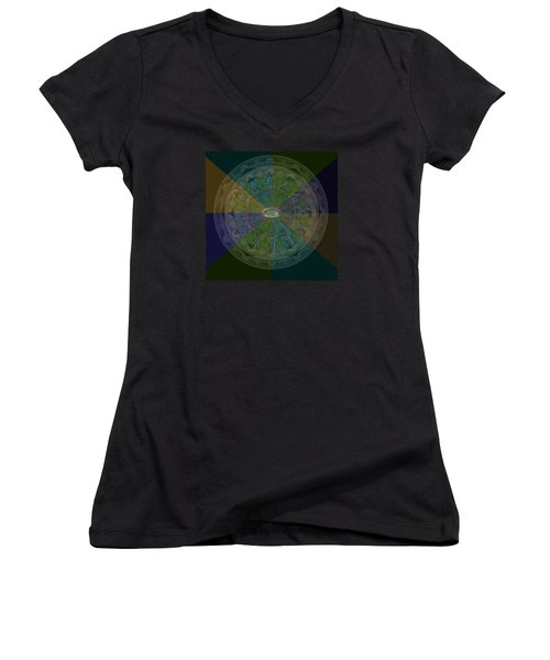 Kaleidoscope Eye Women's V-Neck