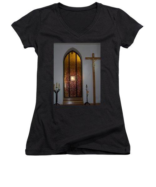 Kaplica Women's V-Neck T-Shirt