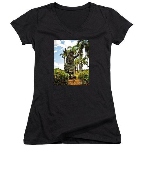 Kapo Women's V-Neck T-Shirt