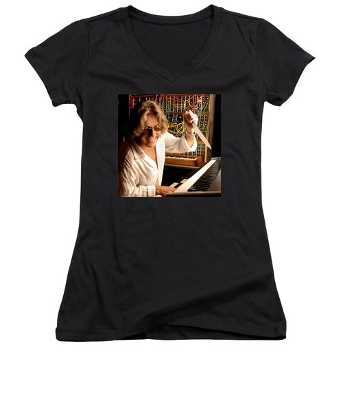 Keith Emerson By Gene Martin Women's V-Neck T-Shirt