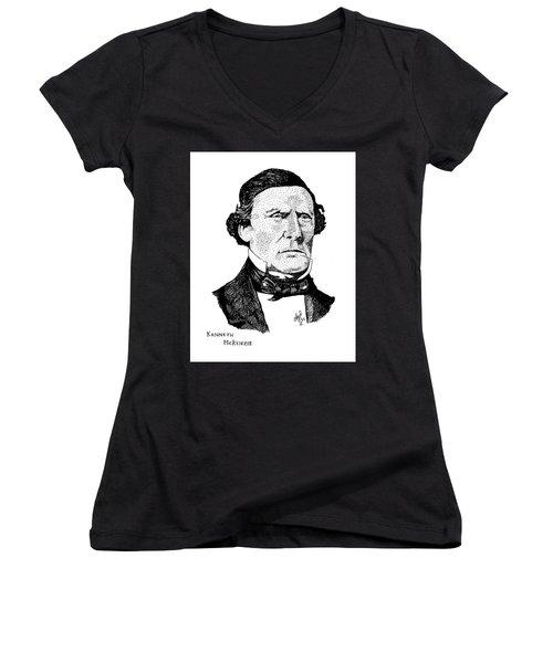 Kenneth Mckenzie Women's V-Neck T-Shirt