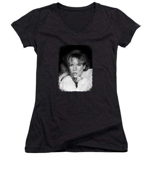 Kim Basinger Women's V-Neck T-Shirt