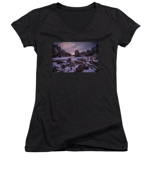 King Of Frost Women's V-Neck T-Shirt
