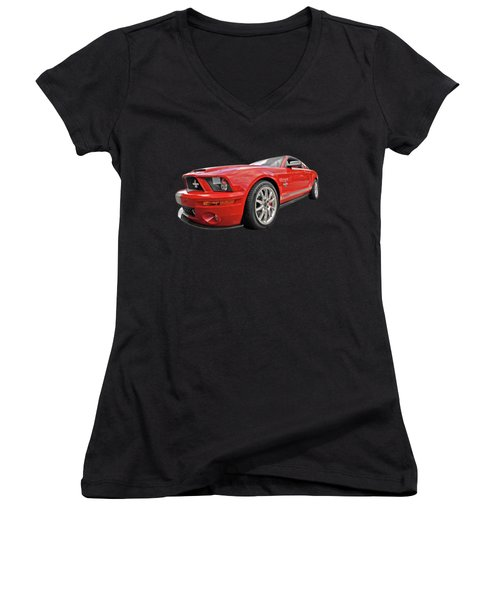 King Of The Road Women's V-Neck (Athletic Fit)